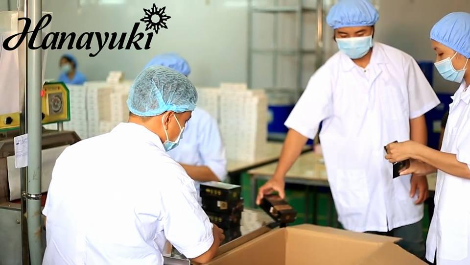 Xưởng sản xuất mỹ phẩm hanayuki