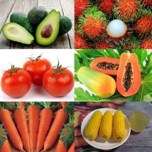 những loại trái cây tốt cho mắt