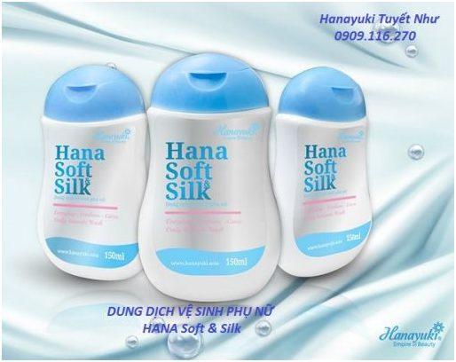 dung dịch vệ sinh phụ nữ hanayuki