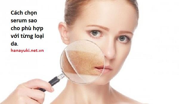 cách chọn serum phù hợp với da