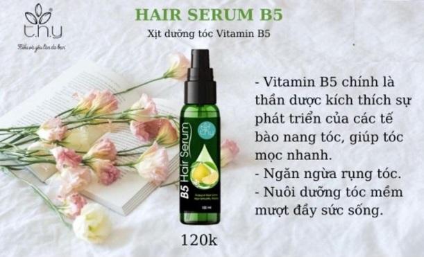 công dụng của serum dưỡng tóc