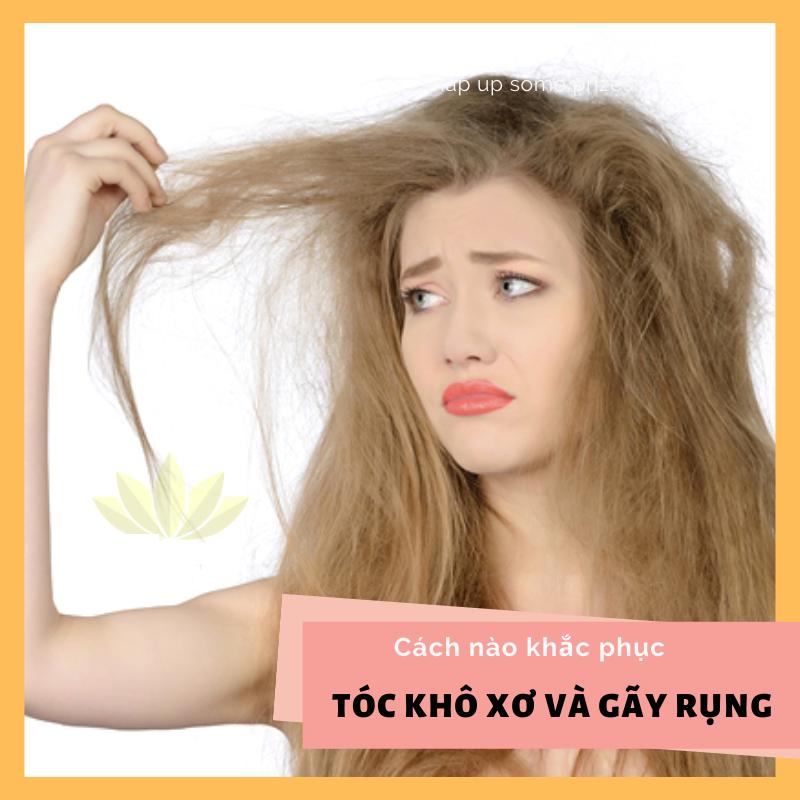 các hư tổn thường gặp ở tóc